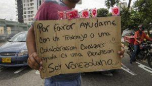 Migrante venezolano en Colombia