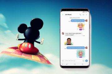 Por primera vez los personajes cobrarán vida en un entorno de realidad aumentada para comunicaciones y mensajería