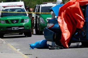 El incidente tuvo lugar en una autopista luego de que un autobús de pasajeros chocará con un vehículo