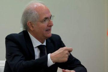 El antiguo dirigente opositor aplaudió las palabras del senador colombiano Juan Manuel Galán en una charla sobre la actual crisis en el país