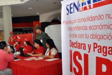 El Seniat prolongó el lapso para el pago del impuesto debido al asueto de Semana Santa