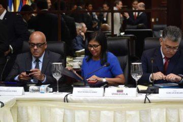 El Secretario de Estado, Luis Rivera, ofreció la sede del departamento a disposición de la Asamblea Nacional