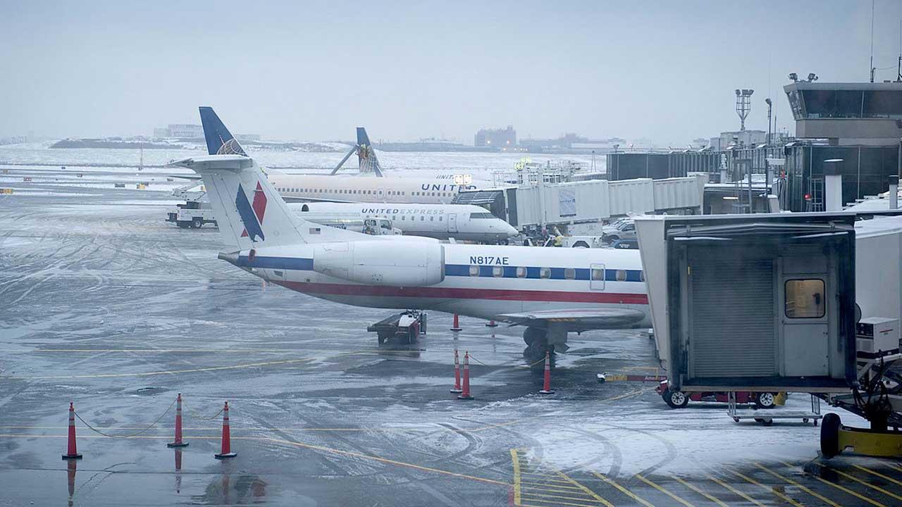 Aeropuertos Dominicanos Siglo XXI informó de la suspensión de varios vuelos entre ambos países debido a la tormenta de nieve en la nación norteamericano