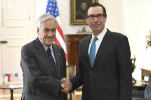 Doble llave - EEUU y Chile evalúan sanciones a Venezuela