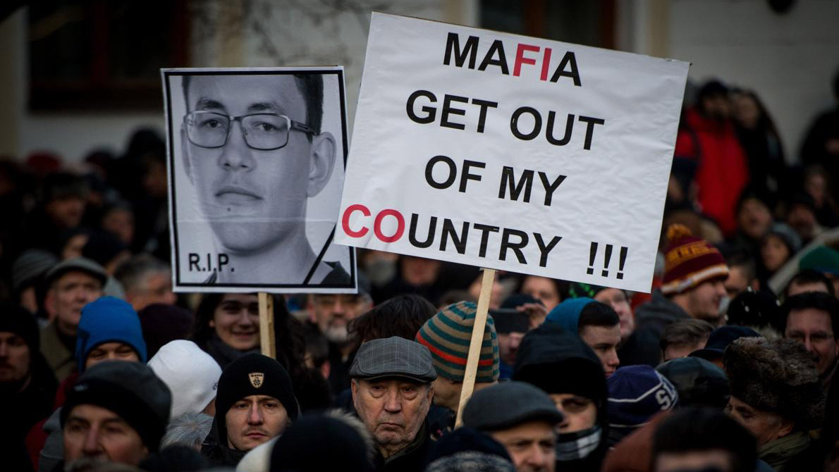 Ján Kuciak de 27 años fue asesinado mientras hacia un reportaje sobre una presunta red de mafia entre Italia y Eslovaquia