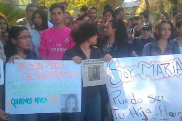 María Reyes fue vista por última vez el pasado jueves 1 de marzo, día que presuntamente tenía una entrevista laboral.