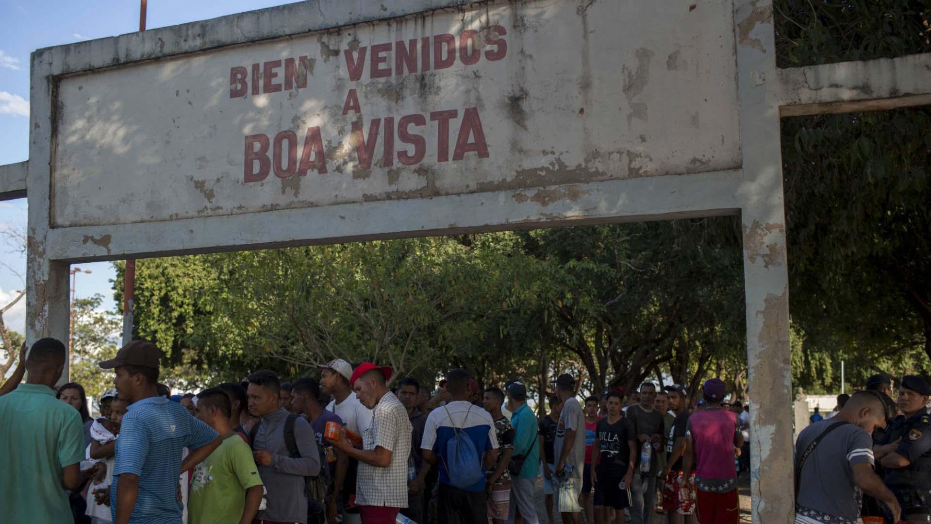 Doble llave - Gobierno de Brasil y Acnur abrieron albergue para venezolanos