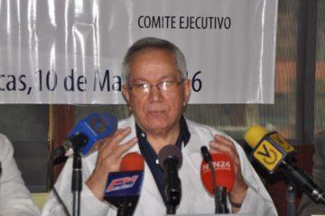 """El presidente de la Federación Médica Venezolana calificó de """"nefasta"""" la situación enlas emergencias y los hospitales infantiles en el país"""