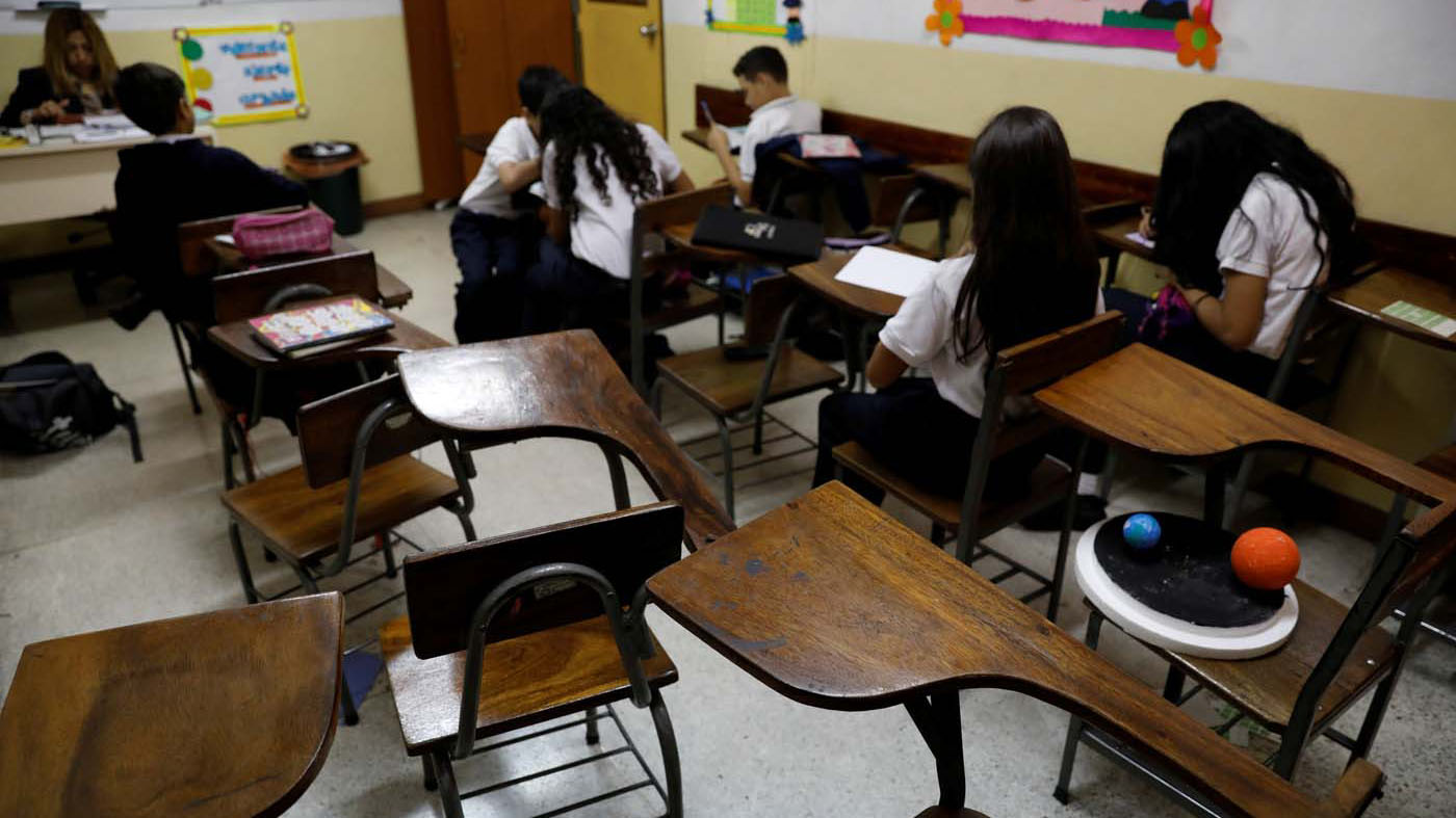 Doble llave - Ubican en 25% deserción escolar en el centro del país