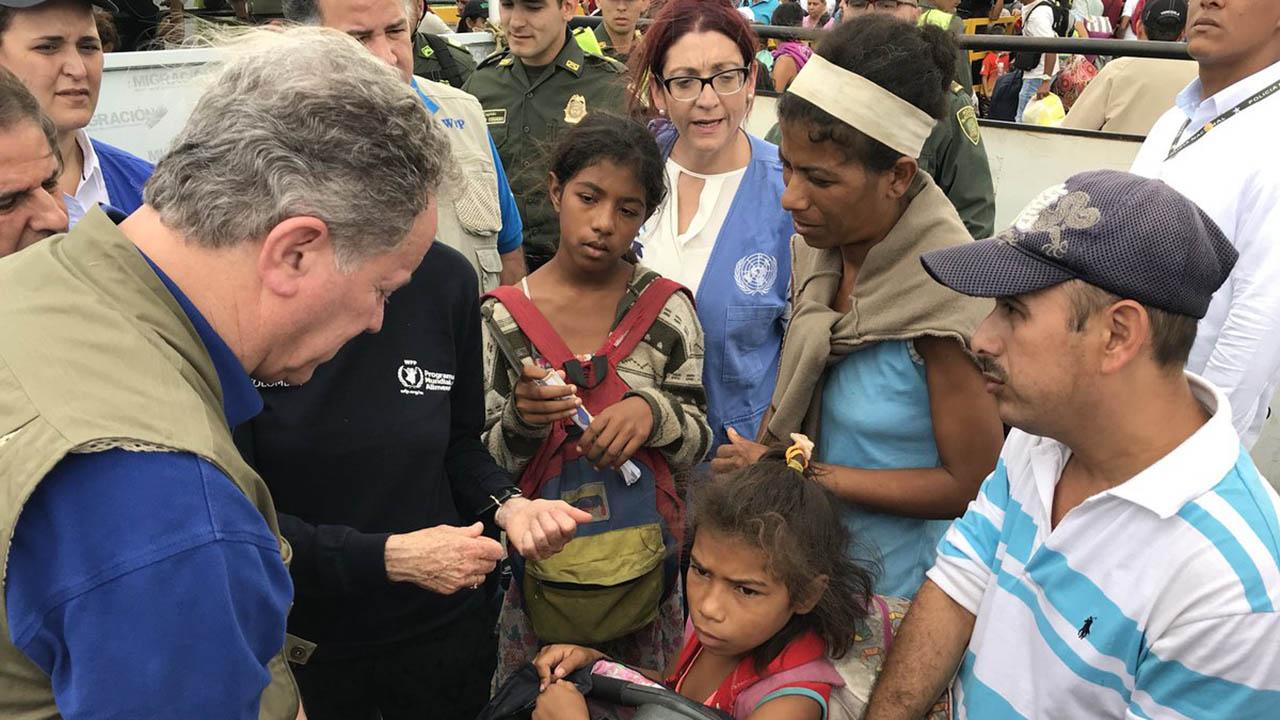 Doblellave-Beasley Situación de venezolanos en Colombia es un desastre humanitario
