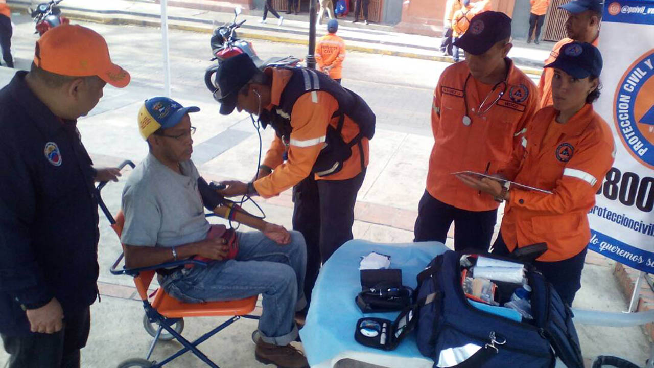 Doblellave-PC desplegó 3900 funcionarios para brindar asistencia médica a feligreses
