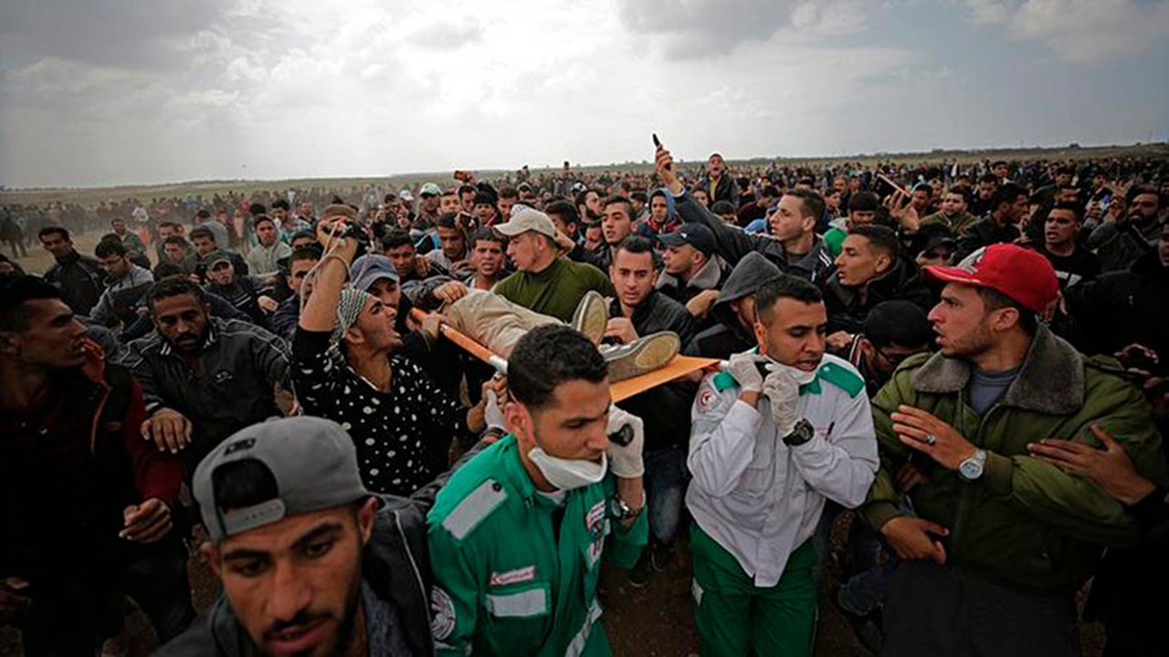 Palestina en duelo nacional tras asesinato de 15 personas en Gaza