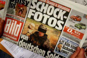 El periódico alemán alegó que cada vez más damas perciben estas fotos como ofensivas o degradantes