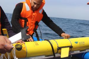 Los números permiten encontrar una ruta óptima dentro de la dinámica turbulenta del océano