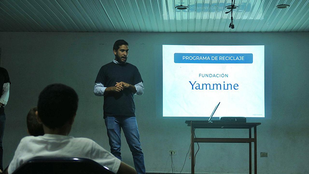 """Sarkis Yammine, vocero de la Fundación, explicó que este donativo se enmarca en el lema """"Sembrando Futuro"""""""
