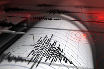 Los temblores se registraron en el transcurso de la madrugada de este martes, sin hechos que lamentar