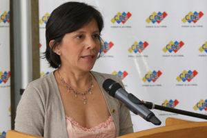 La vicepresidenta del CNE, Sandra Oblitas, informó que decidieron abrir averiguaciones administrativas