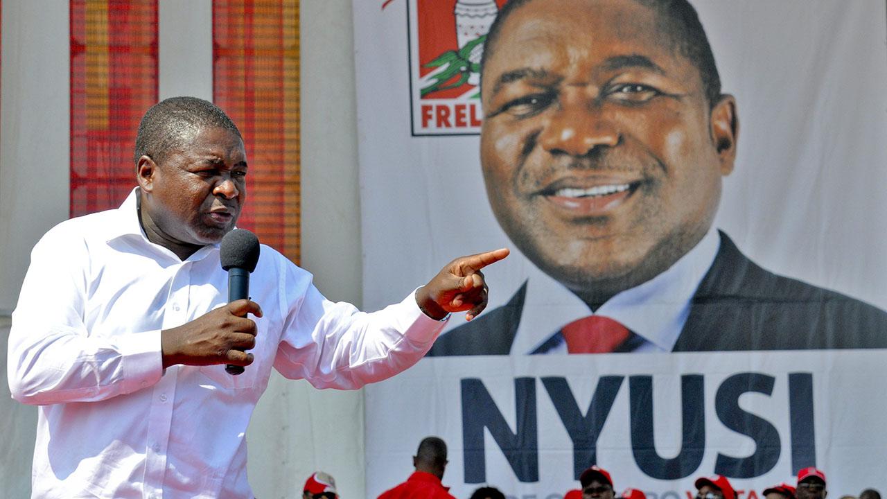 El presidente Filipe Nyusi informó que el 15 de octubre de ese año se realizarán comicios generales