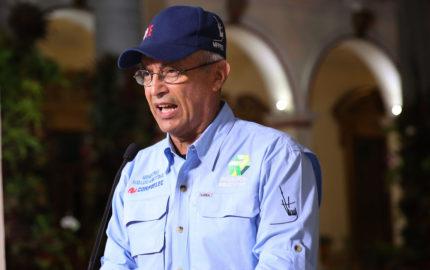 El ministro de Energía Eléctrica, Luis Motta Domínguez, informó que fue reestablecida por trabajadores de Corpoelec