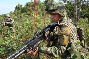 El municipio de Tamaco fue militarizado por las autoridades locales,. Los ecuatorianos tomarán acciones en la región de San Lorenzo
