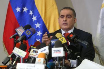 Así lo dio a conocer el fiscal general Tarek William Saab, quien añadió que con esta detención suman 20 ante el Ministerio Público
