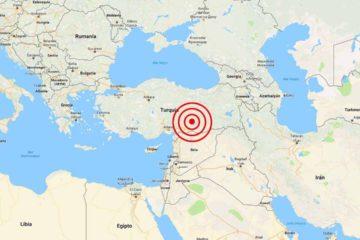 El fuerte temblor se sintió en provincias vecinas como Sanliurfa, Gaziantep y Diyarbakir
