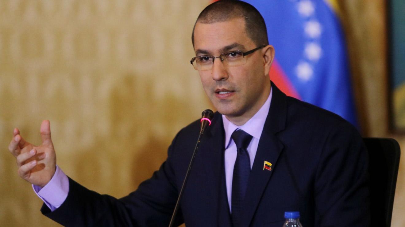 El político ofreció declaraciones tras reunirse con la alta representante de la Unión Europea, Federica Mogherini, en Bruselas