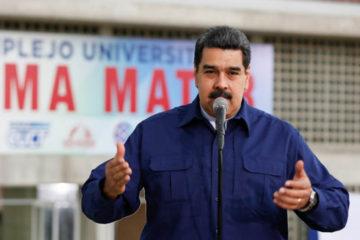 """Maduro señaló que el posible ataque pudo venir de un grupo de """"infiltrados de la derecha"""""""