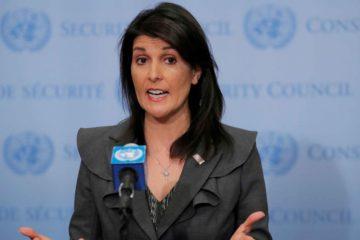 La embajadora Nikki Haley señaló que su país, Francia y el Reino Unido llevaron a cabo un análisis de lo sucedido en Duma