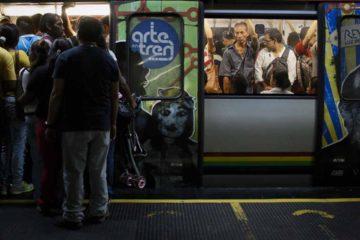 Los inconvenientes en el servicio han generado un colapso en la Línea 1 y en las paradas de transporte externo