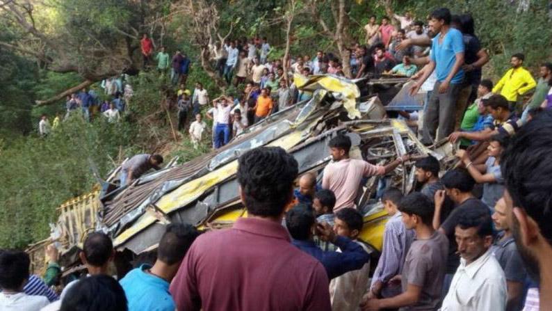 En el accidente también perdieron la vida cuatro adultos, entre ellos el conductor del bus, dos maestros y otra pasajera