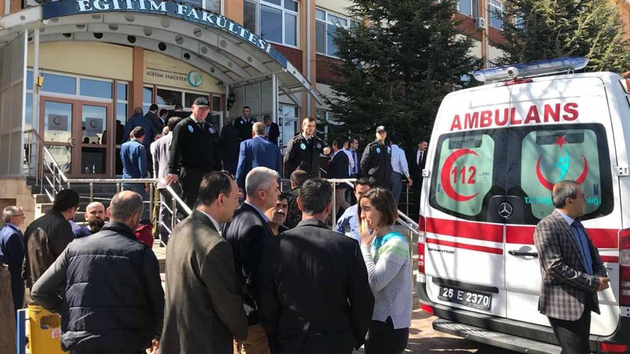 Las víctimas son un vice decano, dos profesores y un miembro del personal administrativo de la Universidad Osmangazi