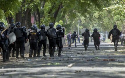 Las manifestaciones estallaron el pasado martes 17 de abril en rechazo a una reforma del Gobierno al Seguro Social