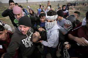 Doble Llave - Siete muertos y mil heridos en protestas en Franja de Gaza