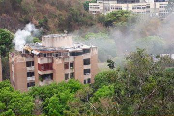 El Cuerpo de Bomberos del estado Miranda atendió el incidente y logró controlar la situación