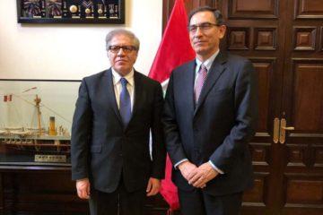 Doble Llave - Vizcarra se reunió con Almagro para Cumbre de las Américas
