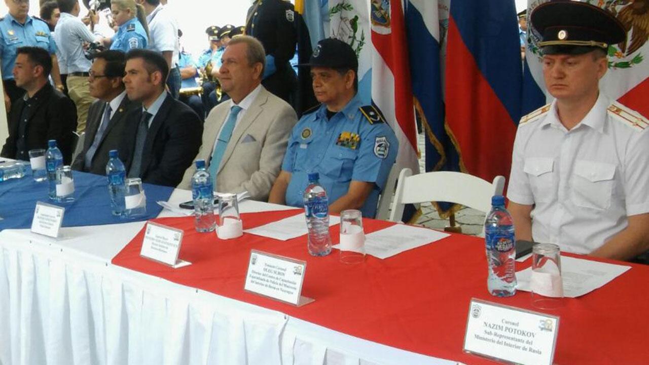 Doblellave-Centro ruso capacita a policías antidrogas de México y Centroamérica