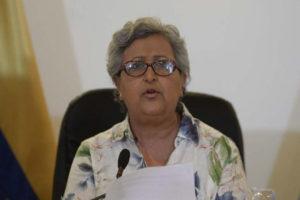 La presidenta del órgano rector del Poder Electoral descartó que las fechas sean modificadas