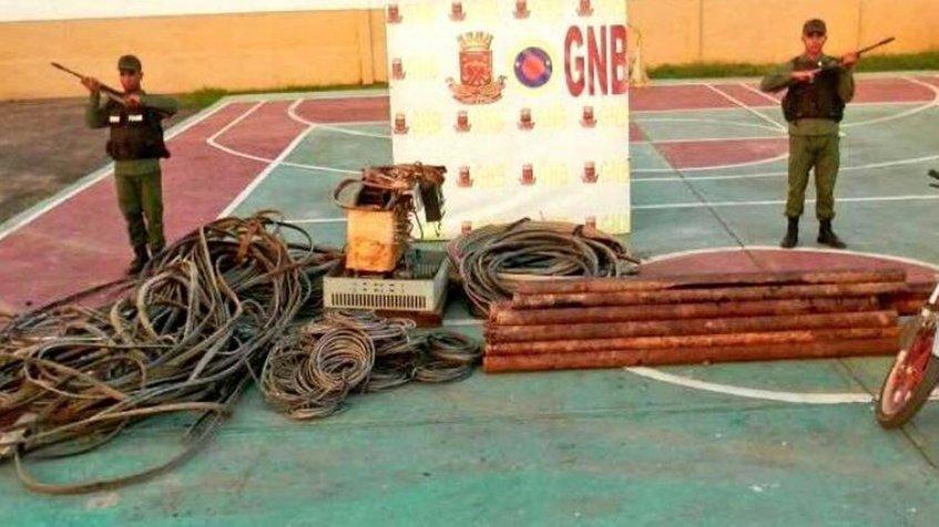 El procedimiento se llevó a cabo en el estado Táchira dejando a dos personas detenidas
