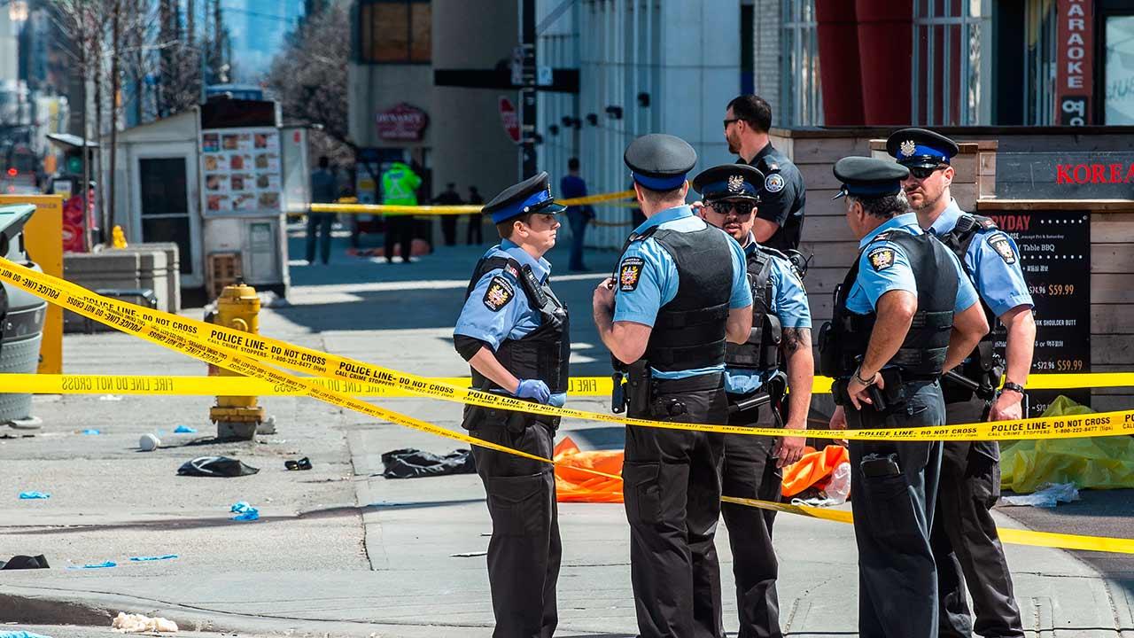 La policía logró detener al conductor responsable del hecho, quien intentaba darse a la fuga