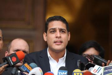 El parlamentario aseguró que ante la ausencia de la ONU no hay garantías de participación