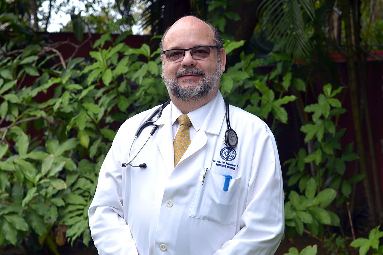 Audio entrevista con el doctor Héctor Marcano sobre telemedicina y medicina interna