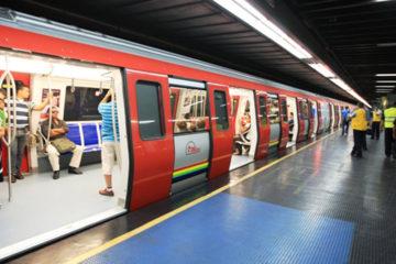 El hecho ocurrió en la Línea 2 del medio de transporte, entre las estaciones Artigas y La Paz