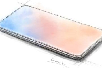 La compañía sorprendió con una imagen que demostraría parte de un futuro diseño de uno de sus móviles