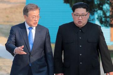 """El mandatario surcoreano, Moon Jae-in, solicitó al organismo la asistencia para """"transformar la zona desmilitarizada en zona de paz"""""""