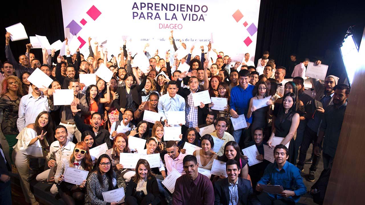 La empresa venezolana inició su sexta cohorte con 118 estudiantes que recibirán conocimientos en la Escuela Aprendiendo para la Vida