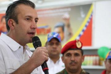El Vicepresidente Ejecutivo de la República,Tareck El Aissami, informó que el monto de la inversión fue de 15 billones de bolívares