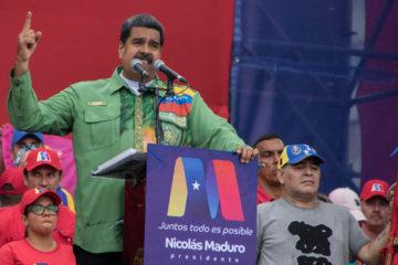Maduro invitó a sus seguridades a votar por él este 20 de mayo para establecer los cambios que requiere la nación