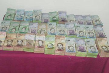 Se presume que la ciudadana venezolana tenía la intención de vender el papel moneda en Brasil