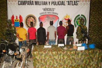 """Entre los capturados sobresale alias """"Mantequilla"""", explosivista y responsable de varios ataques terroristas"""